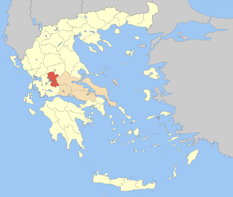 Evrytania in Greece