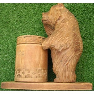 bashkirian-wild-bee-honey-vintage-pen-holder